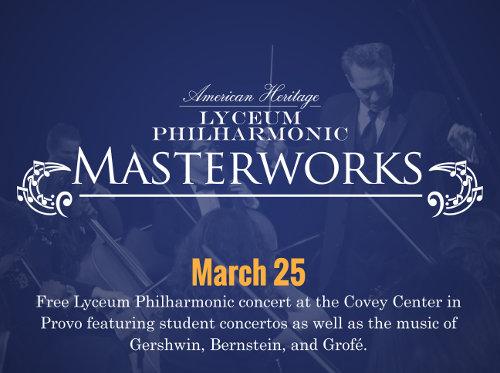 Lyceum Philharmonic Masterworks Concert